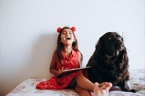 child-with-dog